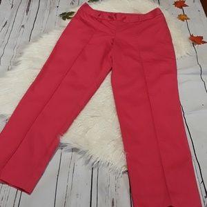 Worthington Dark Pink Capris